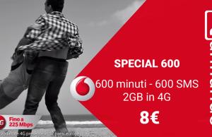 attivare vodafone Special 600