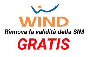 wind validità sim