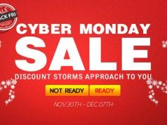 Cyber Monday Geekbuying