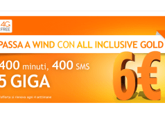 attivare wind all inclusive gold
