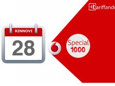 vodafone special 1000 rinnovi 28 giorni