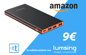 promo amazon tariffando lumsing powerbank