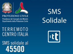 terremoto italia numero solidale