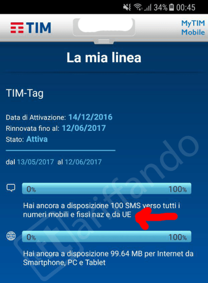 tim roaming gratis