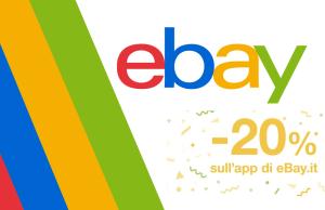 20 sconto ebay