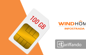 wind home infostrada sim 100gb