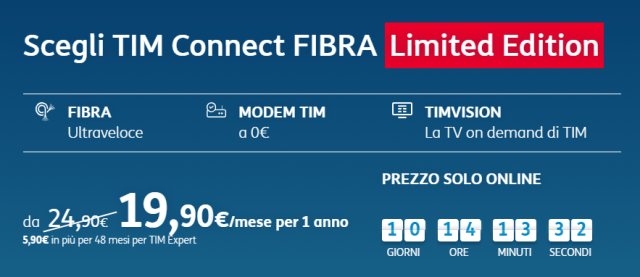 tim smart connect fibra limited edition