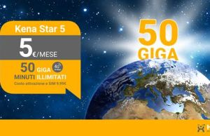 kena star 50GB
