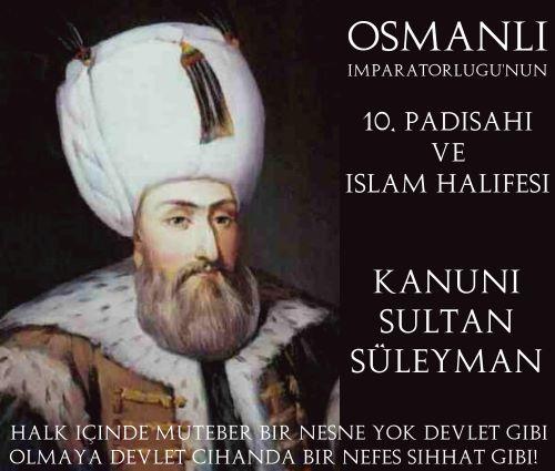 Kanuni Sultan Süleyman Dönemi (1520-1566)