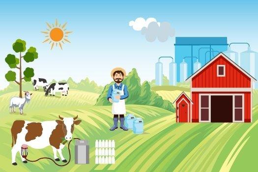 Süt Üreten Tarımsal İşletmeleri