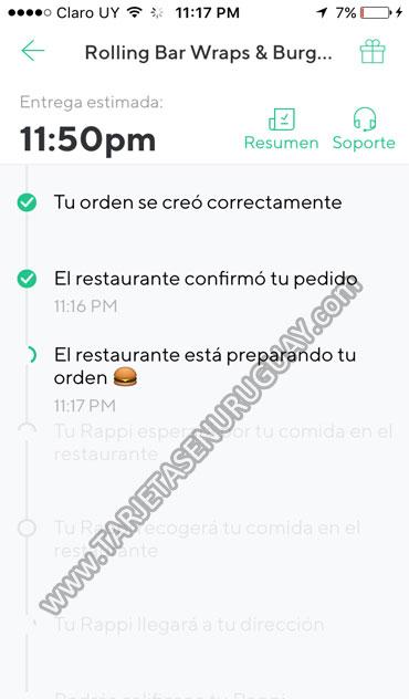 Rappi Uruguay como funciona