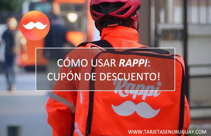 Rappi Uruguay: Cupón de Descuento con Tarjeta