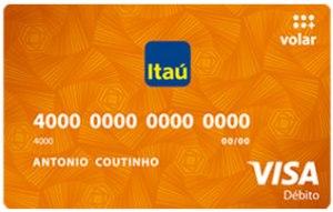 Tarjeta debito banco Itau