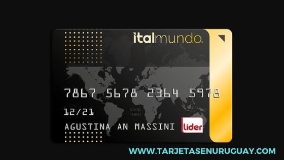 Tarjeta de crédito Italmundo Oro