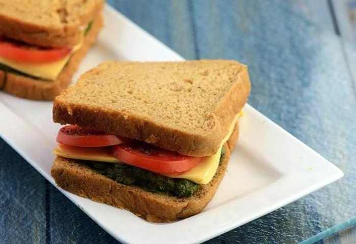 Black Olive Pesto Sandwich Eat Well Stay Well Recipes