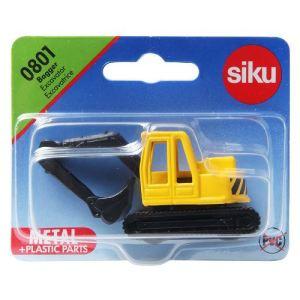 Siku 0801 bagger excavator