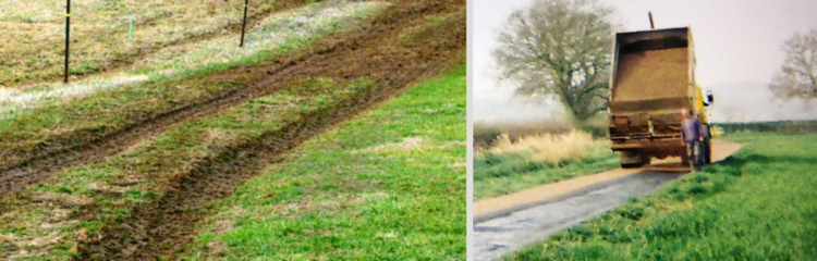 Tarmacadam Farm Tracks