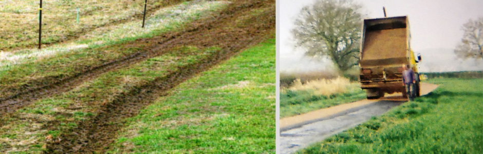 tarmacing farm tracks