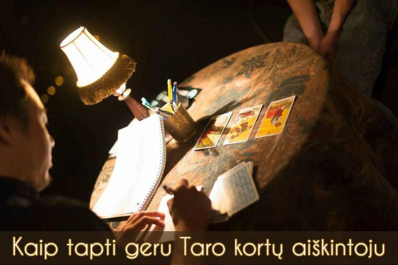 Kaip tapti geru Taro kortų aiškintoju
