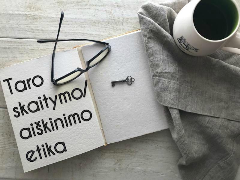 Taro skaitymo / aiškinimo etika