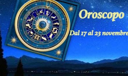 Oroscopo dal 17 al 23 novembre