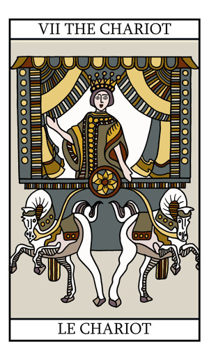 Gallery Tarot Cards The Chariot