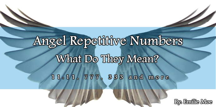 Angel repetitive numbers - what do they mean?