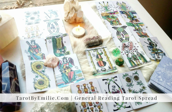 General Tarot Reading Spread