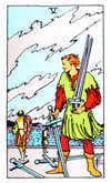 Tarot Minor Arcana card: Five of Swords