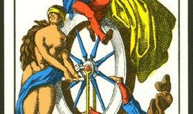 arcanos del tarot: la rueda de la fortuna