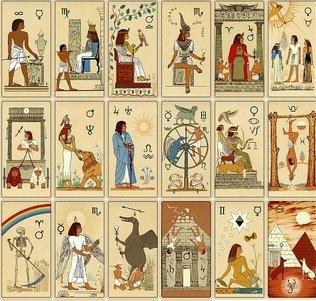 descubre el tarot egipcio