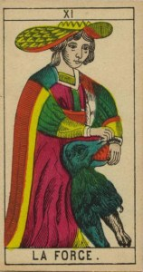 Strength and Justice Cards in Tarot