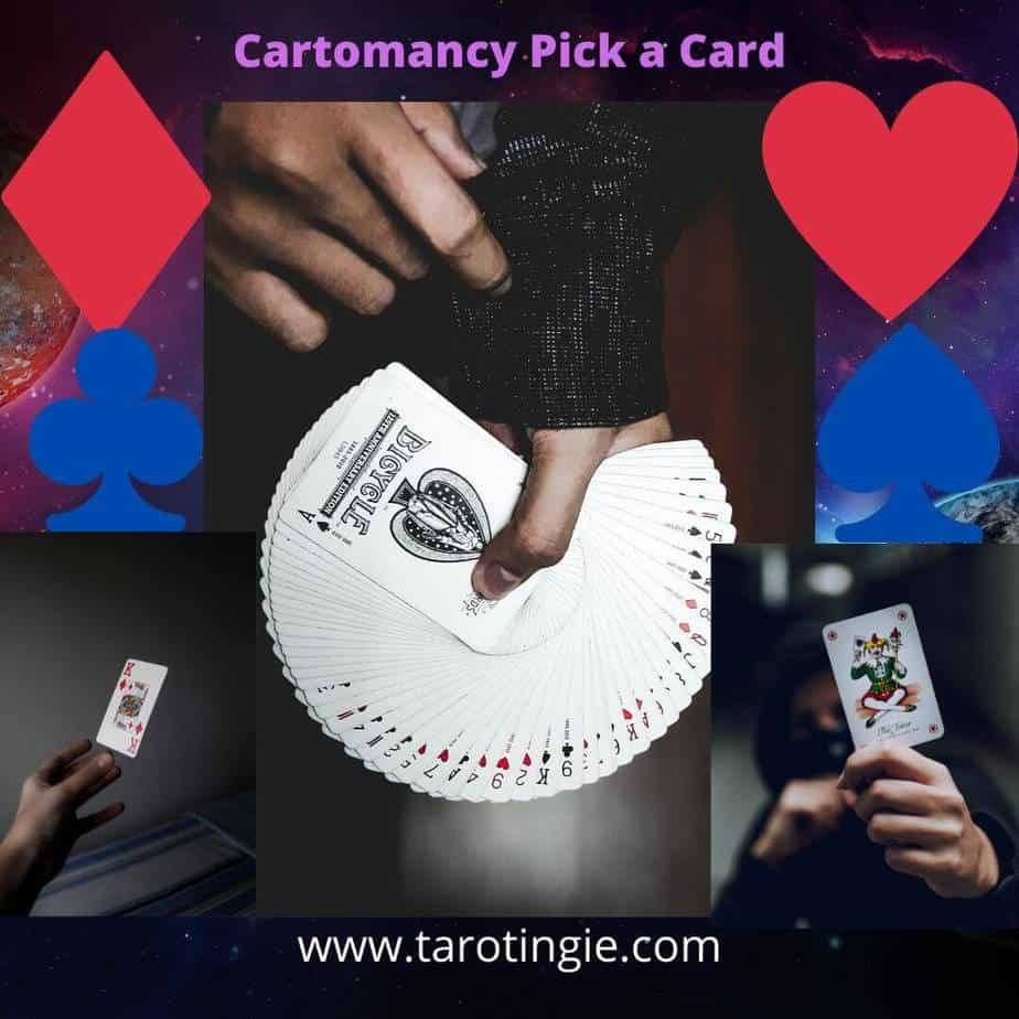 Cartomancy pick a Card Reading