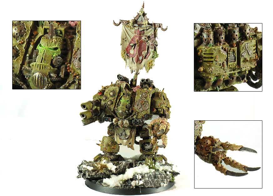 Showcase: Nurgle Dreadnought