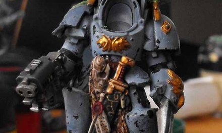 Space Wolf Lord WIP Stage 4