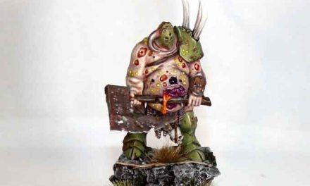 Showcase: Plastic Nurgle Lord