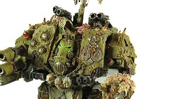 Nurgle Dreadnought featured on Whats New Today