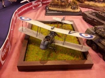 Old WW1 plane at IPMS