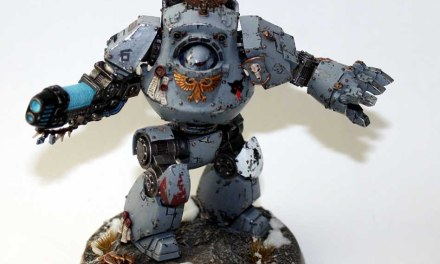 Showcase: Space Wolves Contemptor Dreadnought