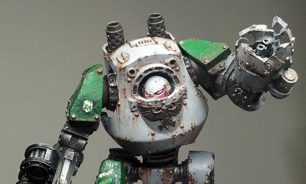 Showcase: Death Guard Heresy Contemptor Dreadnought