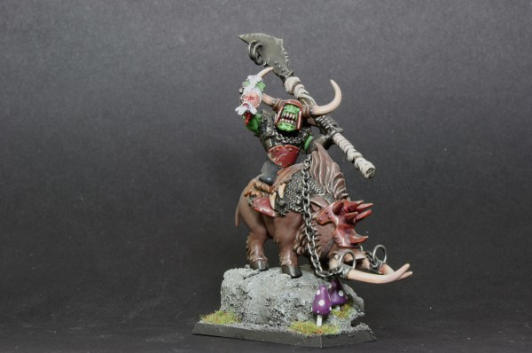 Orc Warboss on Boar