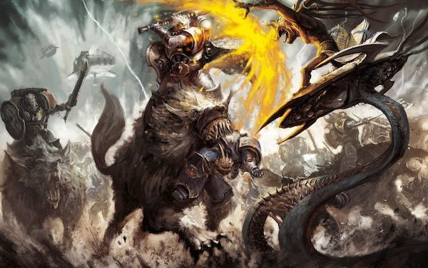 13th Company Wolf Lord & Thunderwolves