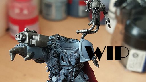WIP: Gunnar IronJaw – Iron Wolf Lord