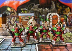 Heroquest Chaos Warriors