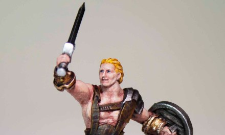 Showcase: 3D Painted Dungeons & Dragons Barbarian