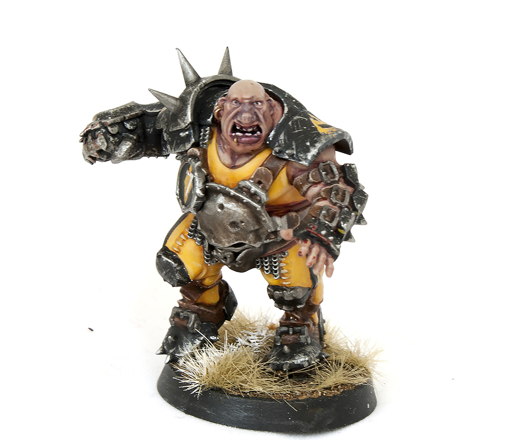 blood bowl ogre - tartan paint 1024