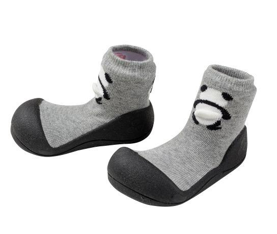 Meia/Sapato ATTIPAS com tecido duplo - Pet Panda - Tartaruguita