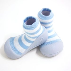 Meia/Sapato ATTIPAS - Natural herb - azul - Tartaruguita