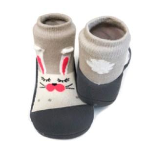 Meia/Sapato ATTIPAS com tecido duplo - Pet Coelho - Tartaruguita