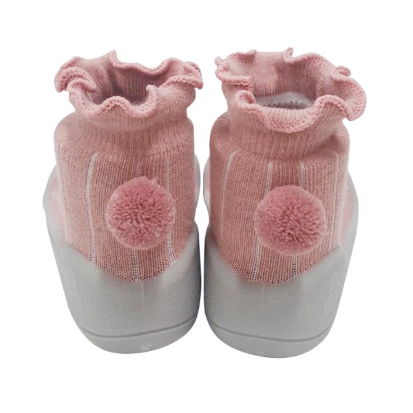 Meia/Sapato ATTIPAS - Pom-Pom - Tartaruguita